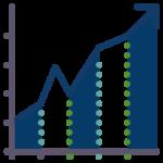 grafica de produccion agricola